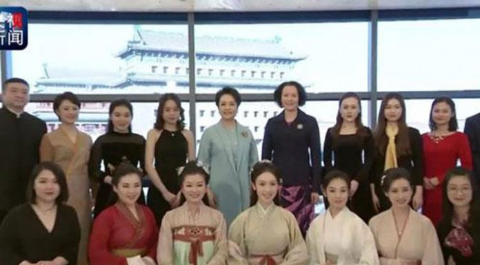 Hanfu Performance for The Head of States