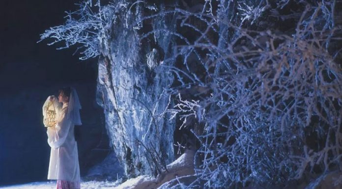 Hanfu in Snow Mountain
