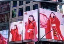 Hanfu Show NYC Time Square