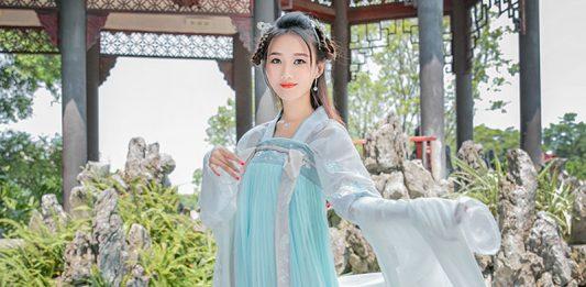 How to Wear Chest Ruqun Hanfu