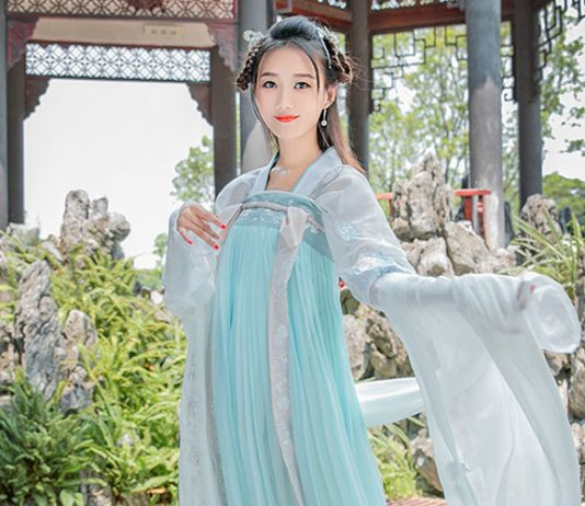 How to Wear Chest Ruqun Hanfu