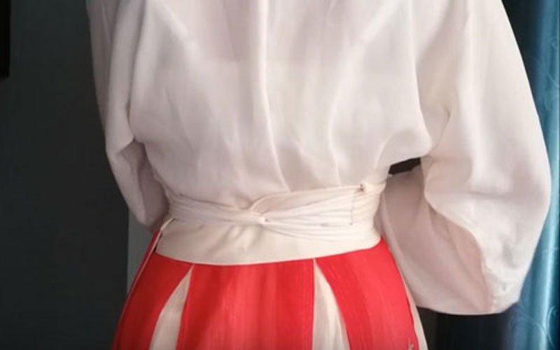 How to Wear a Waist Ruqun