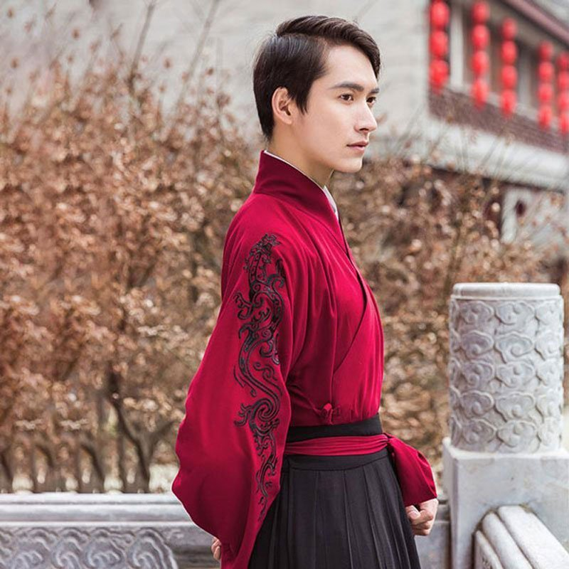 The Difference Between Male and Female Ruqun Hanfu