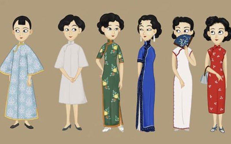 Chinese Traditional Cheongsam qipao dress