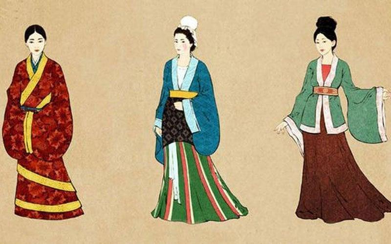 Chinese dress hanfu clothing
