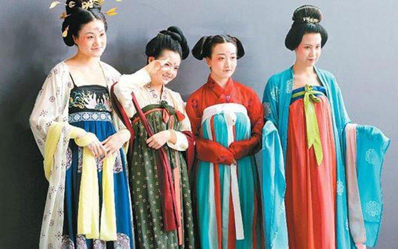 Hanfu Ruqun Dress Tang Dynasty