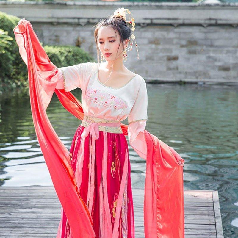 hanfu-chinese-traditional-dress- classic-tanling-ruqun-newhanfu