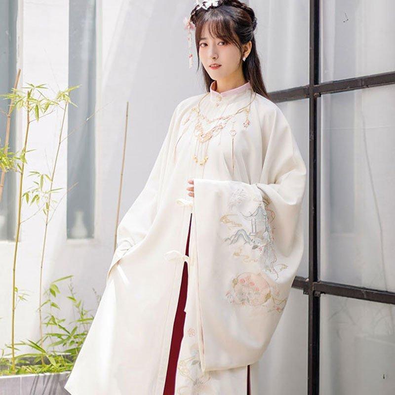 hanfu-chinese-traditional-girl-dress--classic-cloak-newhanfu