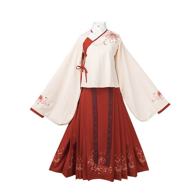 hanfu-chinese-traditional-girl-dress--classic-horse-face-newhanfu