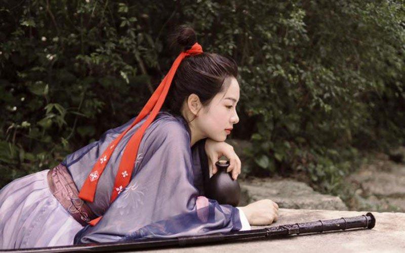 Female Hanfu Ruqun Woman Hero and Kungfu Costume