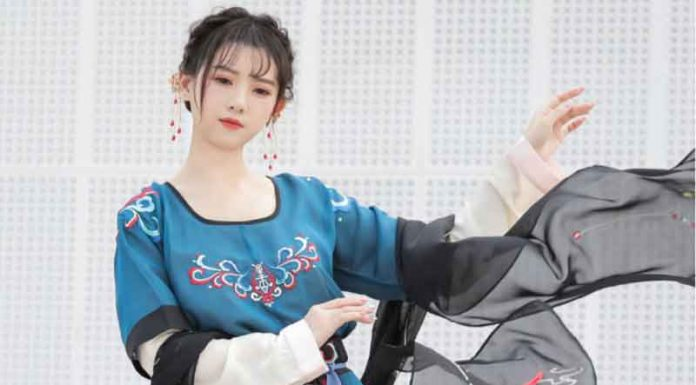 The Best Hanfu in Summer--Half Arm