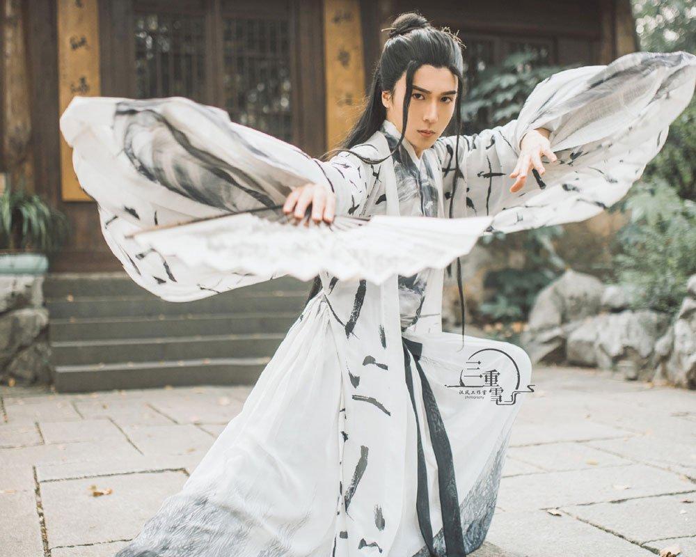 Man Hero and Kungfu Costume