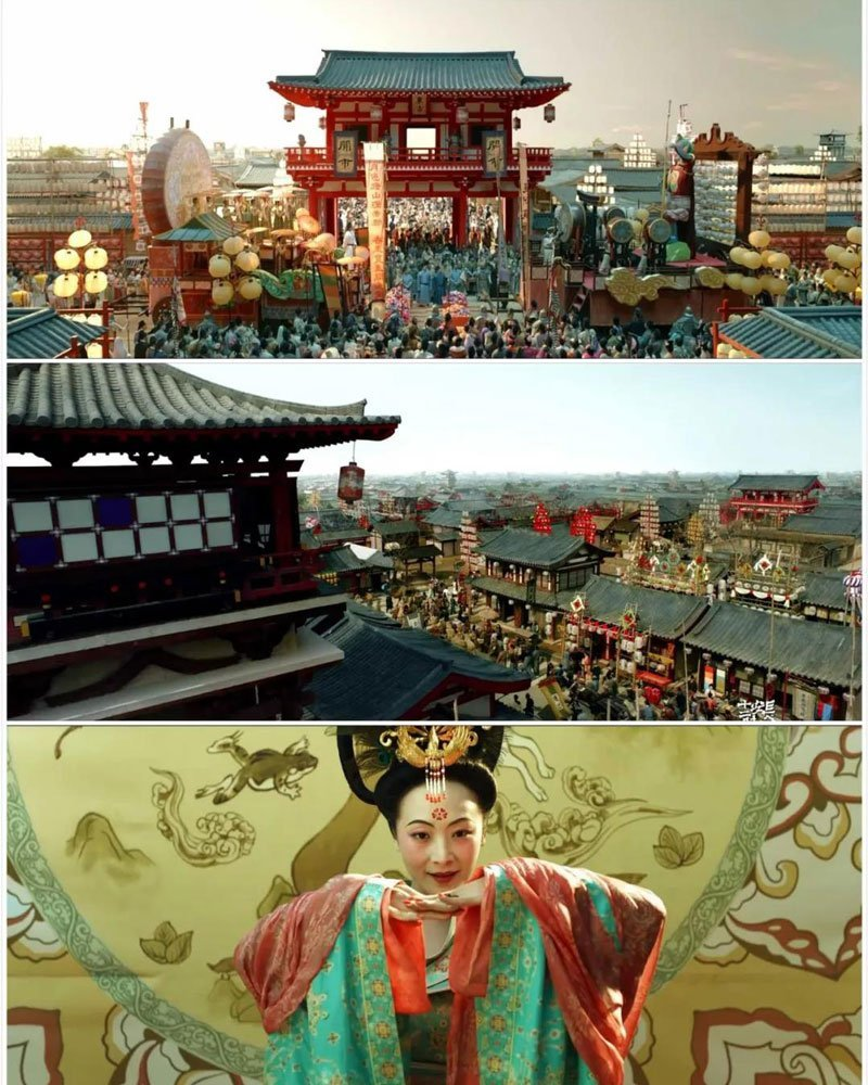 """""""Chang'an 24 Hours"""": Perfect Reproduction of Tang Dynasty Hanfu"""