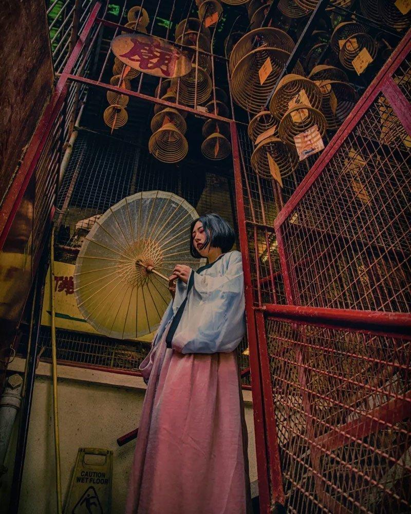 Do You Want Wear Hanfu Travel Around the World hongkong?