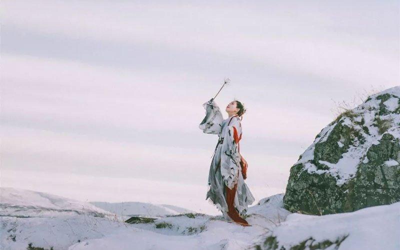 Do You Want Wear Hanfu Travel Around the World iceland?