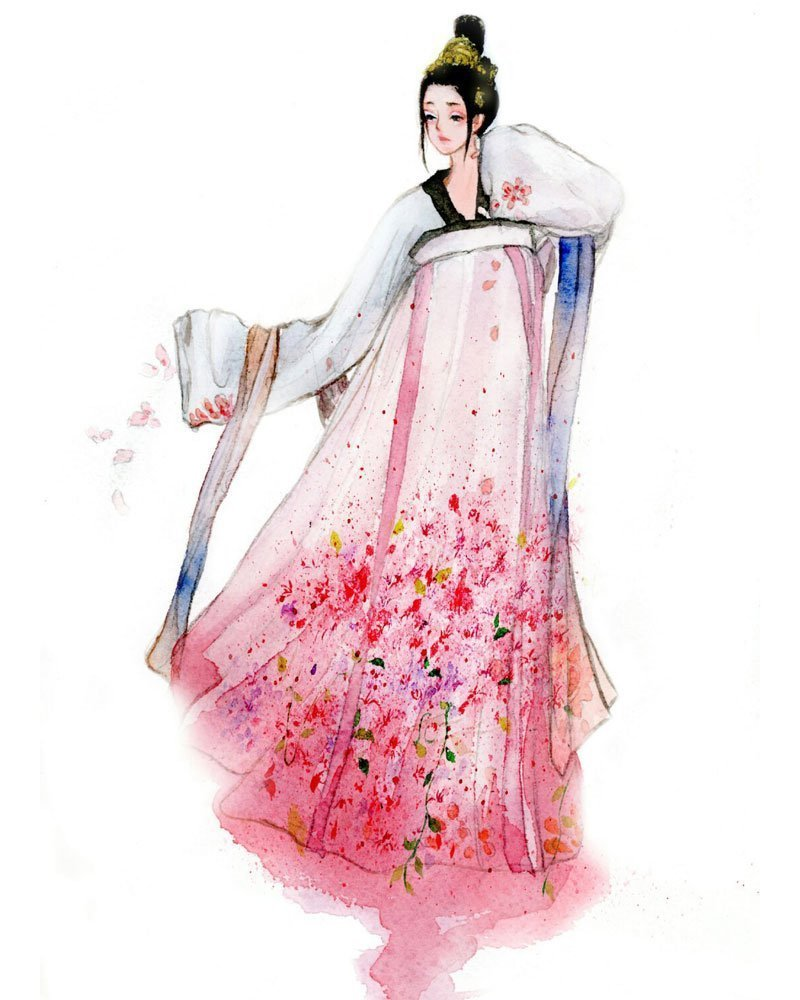 Hanfu Beauty Painting