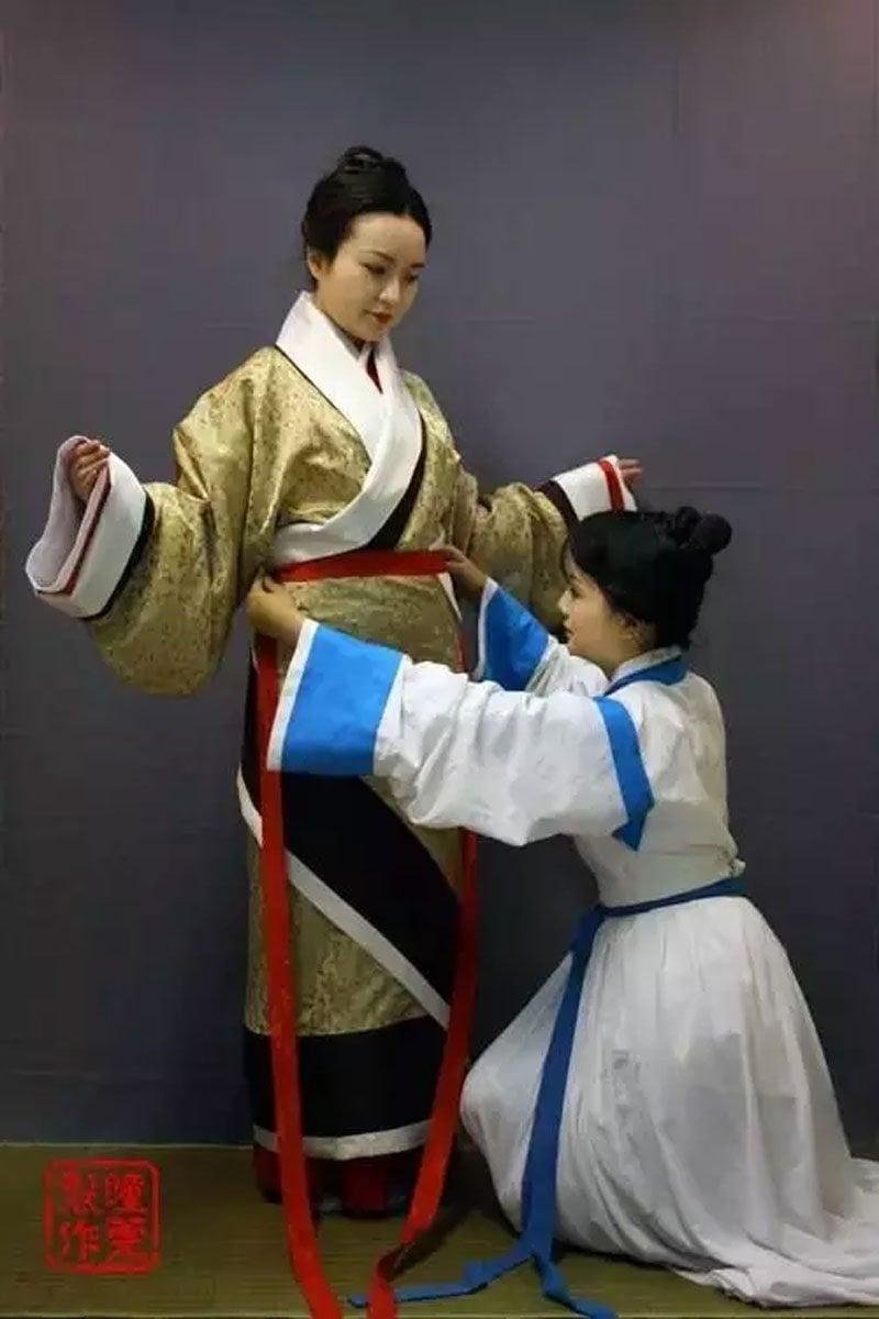 How to Wear Hanfu | Quju Shenyi