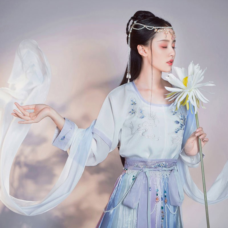 Amazed! Hanfu T-shirts were Available in the Tang Dynasty? 1