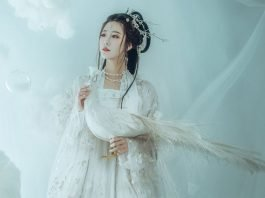 Hairstyle Tutorial for Traditional Chinese Hanfu Dress ——2