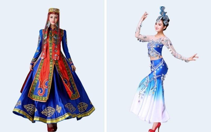 Mongolian ethnic and Dai ethnic