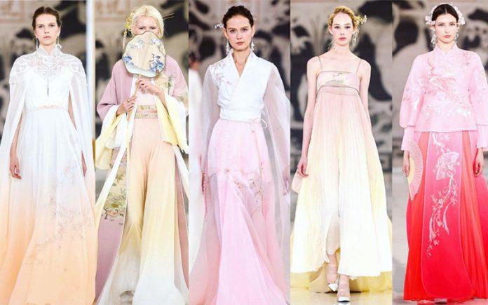 2019 Paris Fashion Week   Modern Hanfu Show Time!
