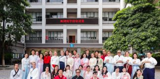 A Record of Overseas Students' Traditional Hanfu Experience