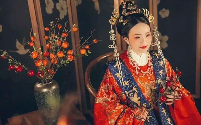 Sweet Record of Traditional Wedding in Hanfu