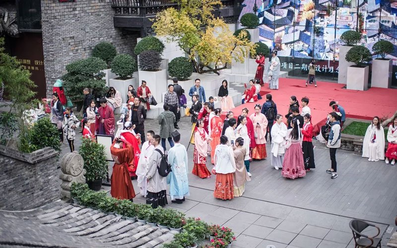 Hanfu Festival: Hanfu Parade Day on November 22