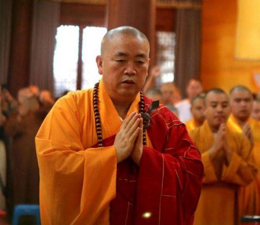 Shi Yongxin Abbot of Shaolin Temple