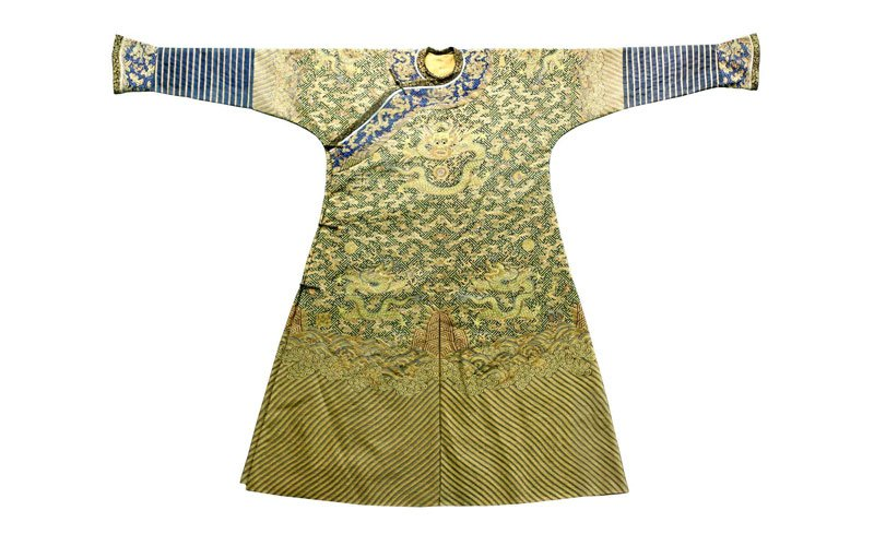 The Secret of Chinese Emperor's Dragon Robe-Zhangwen