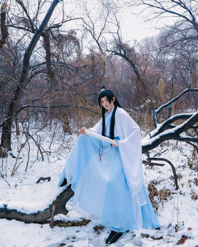 11 Props Make Hanfu Winter Photos Special
