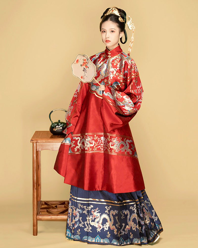 A Chinese Style Hanfu Suitable for Winter - Changshan