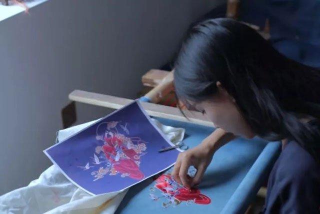 Li Ziqi embroidery hanfu