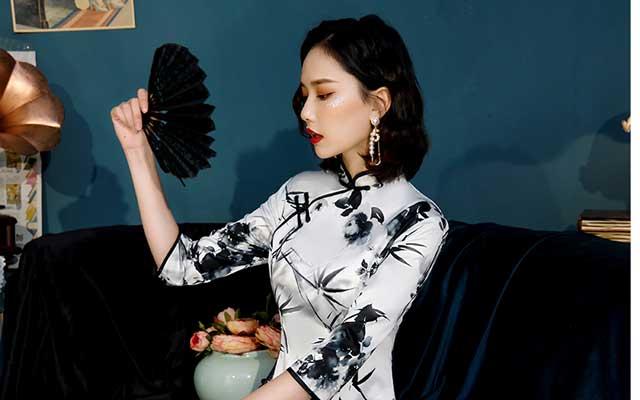 Oriental Dress Clothing Cheongsam Qipao newhanfu