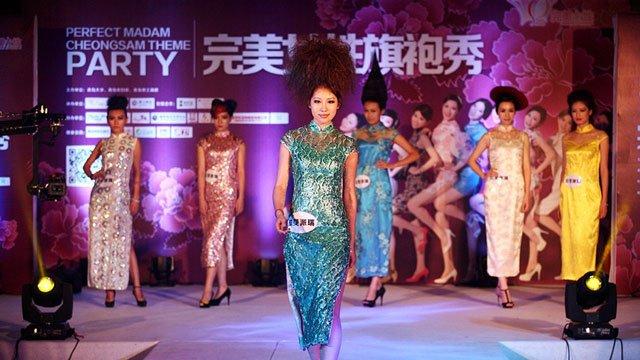 Qipao Fashion Show in Beijing