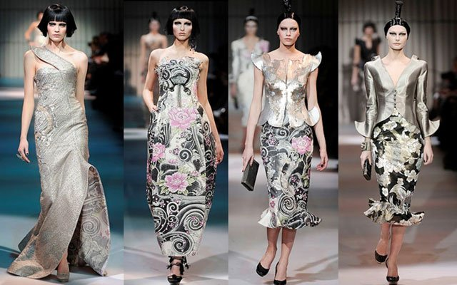 cheongsam fashion show in Paris