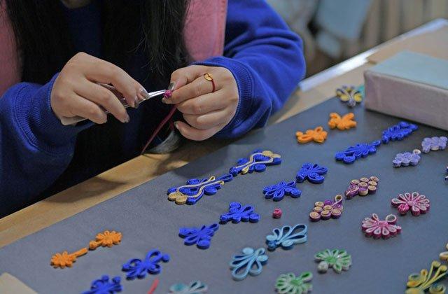 delicate cheongsam button accessory