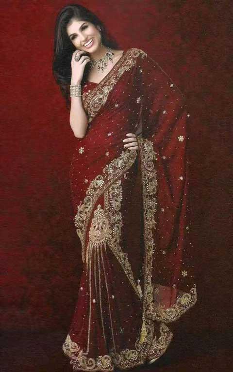 oriental-dress Saree newhanfu