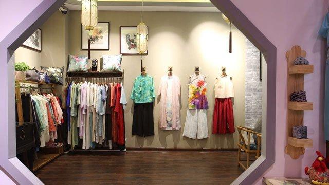 offline qipao dress store in Shanghai