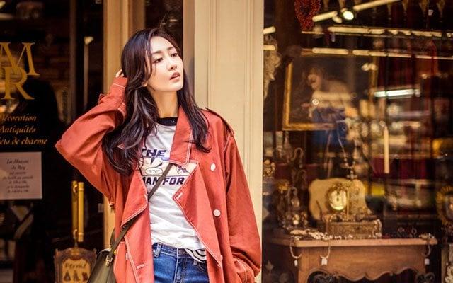 fashion chinese young girl