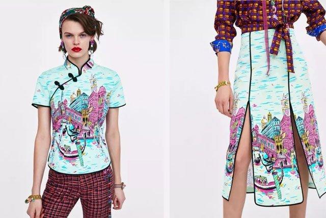 Qipao-theme new collection Zara