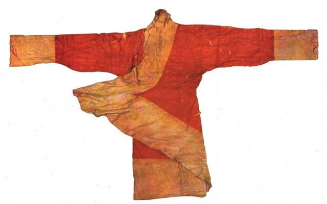 red chinese dress clothing quju hanfu