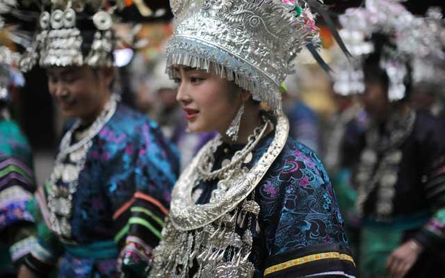 China clothing ethnic minorities costumes newhanfu