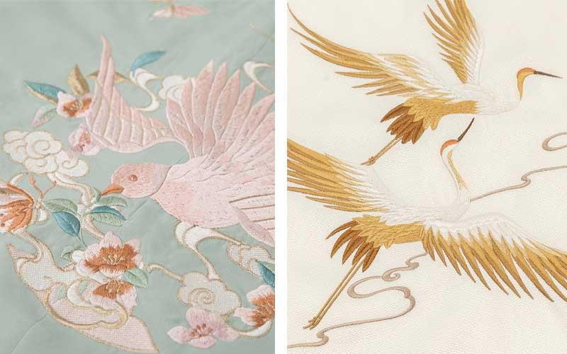 chinese fashion auspicious patterns