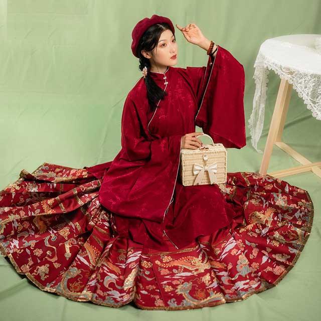 chinese fashion auspicious patterns Peacock