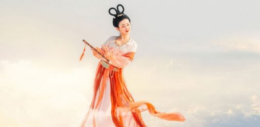 Chinese long dress