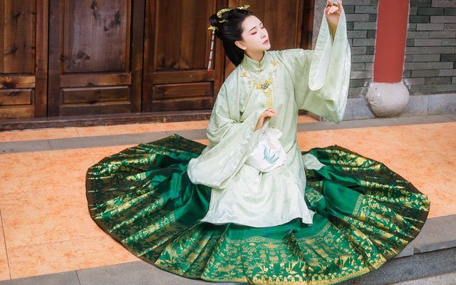 chinese long dress aoqun