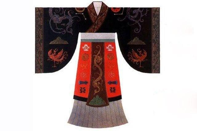 Han dynasty Mianfu robe