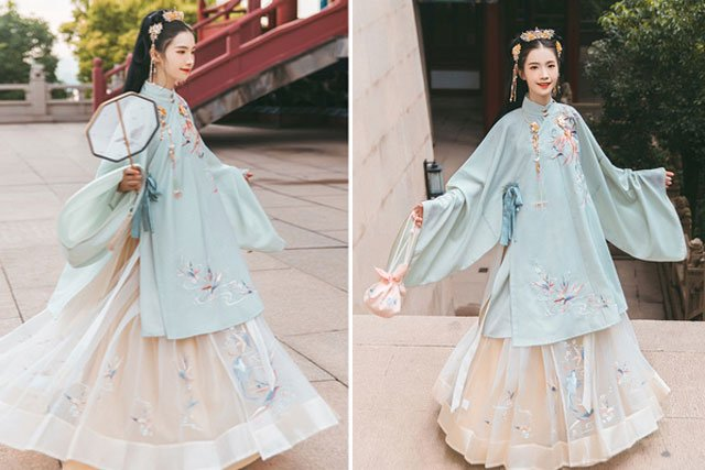 Ming dynasty Hanfu clothing