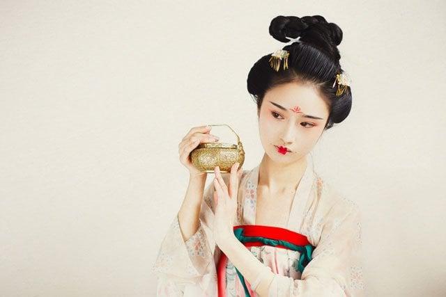 tang dynasty makeup